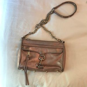 Rebecca Minkoff Rose Gold Crossbody